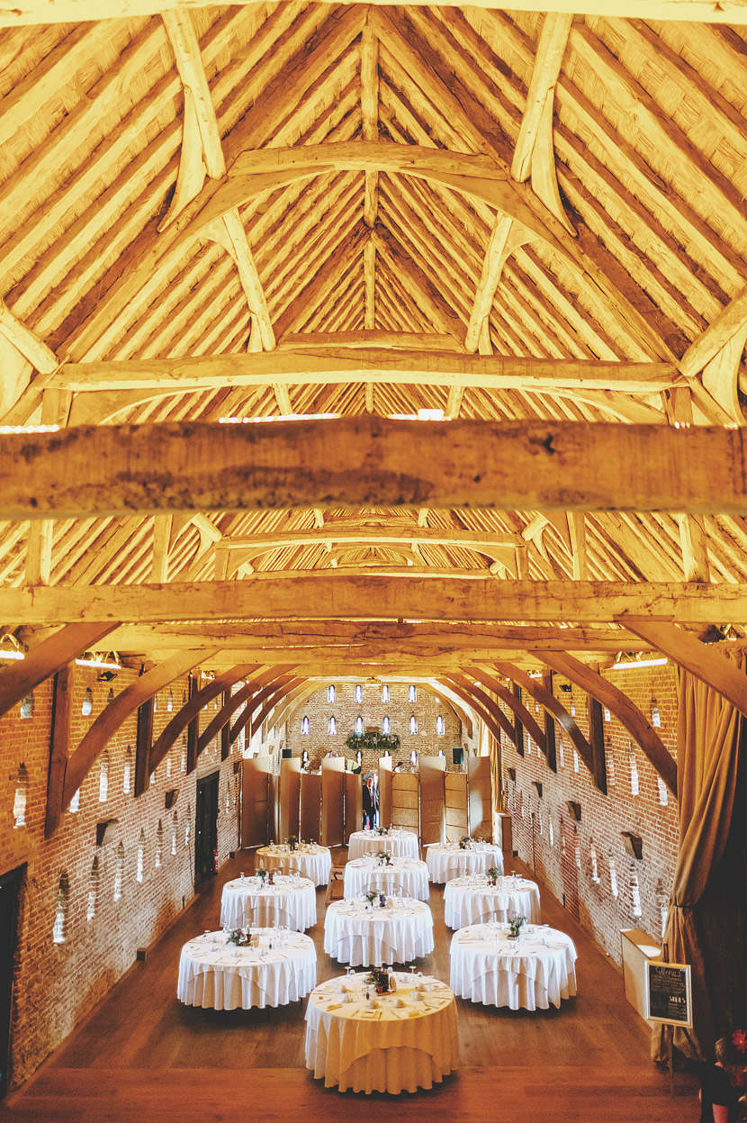 The Great Barn at Hales Hall