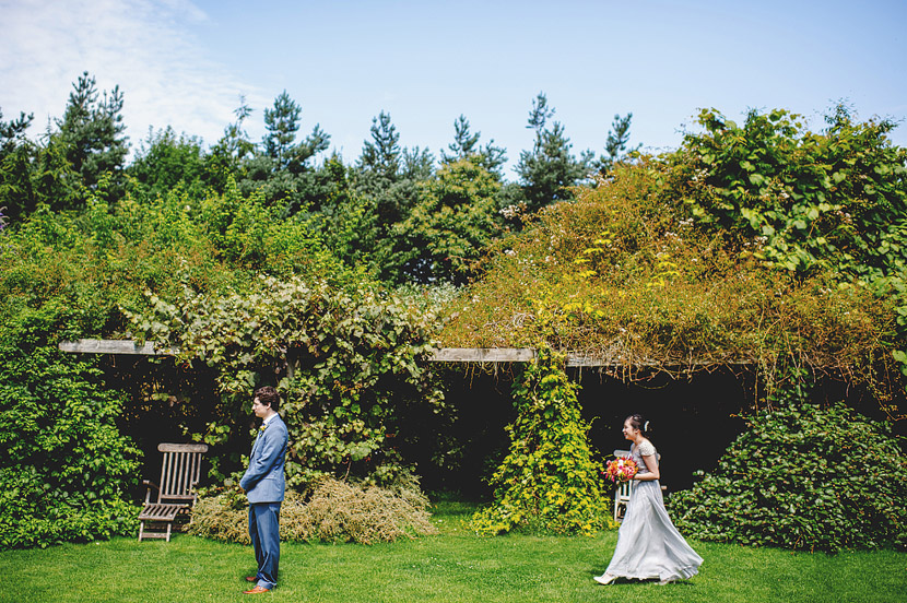Outdoor Summer Wedding - Chaucer Barn