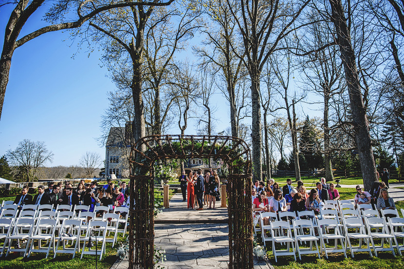 Outdoor Summer Wedding - Cincinnati