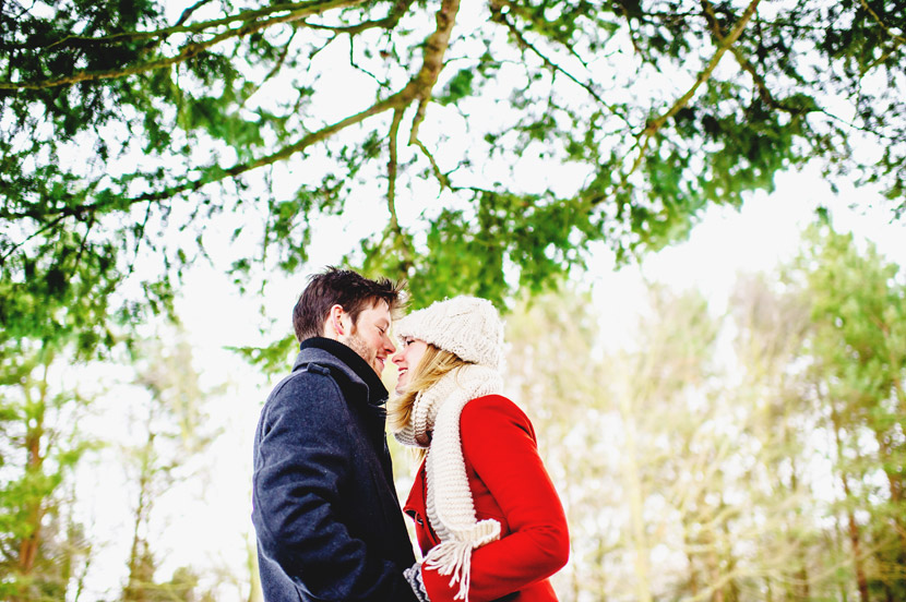 Snow Engagement - Norfolk - Amy & Chris